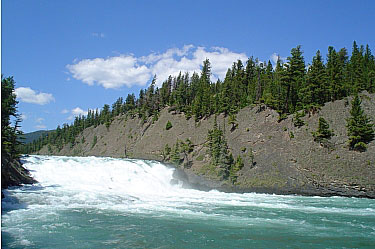 Bow Falls, Banff National Park
