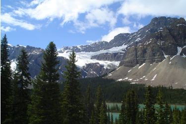 Crowfoot Glacier, Banff National Park