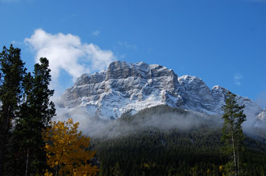 Mount Lawrence Grassi. Canmore, Alberta.