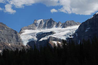 Moraine Glacier. Banff National Park.