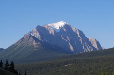 Mount Temple. Banff National Park.