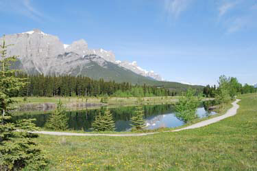 Quarry Lake. Canmore, Alberta.