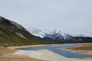 Spray Lakes. Alberta.