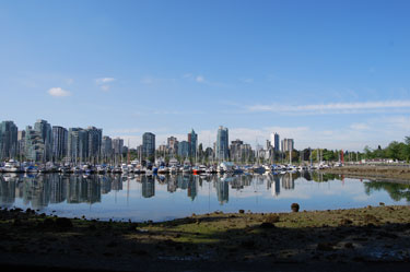 View from Stanley Park. Vancouver, B.C.