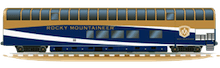 Rocky Mountaineer GoldLeaf Coach