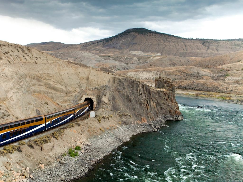 Rocky Mountaineer Train, Black Canyon