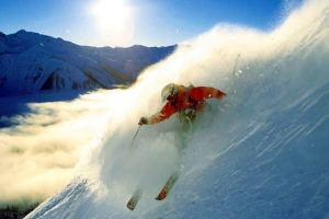 Kicking Horse Ski Resort in B.C., Western Canada