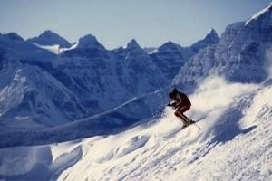 Lake Louise Ski Resort in Banff National Park