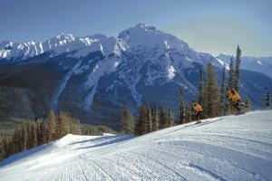 Banff Norquay Ski Resort in Banff National Park