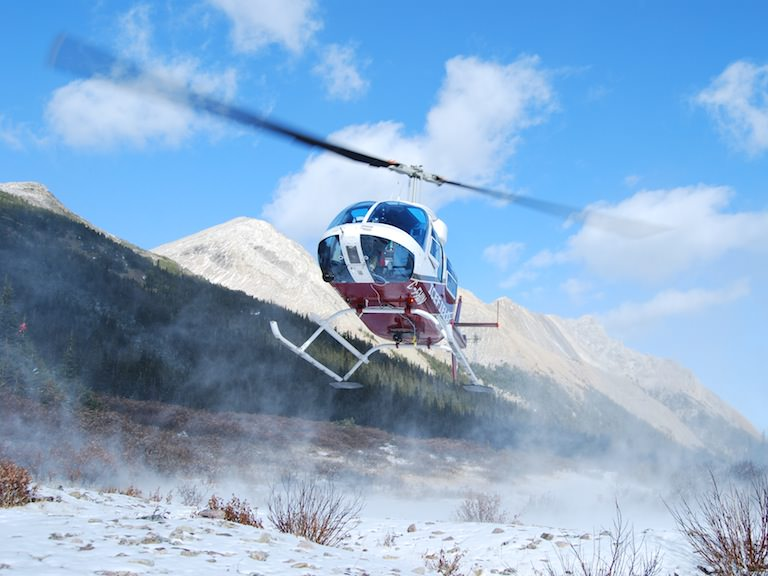 Helicopter Tour, Canadaian Rockies