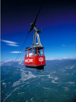 Jasper tramway shuttle credit jasper tourism and commerce